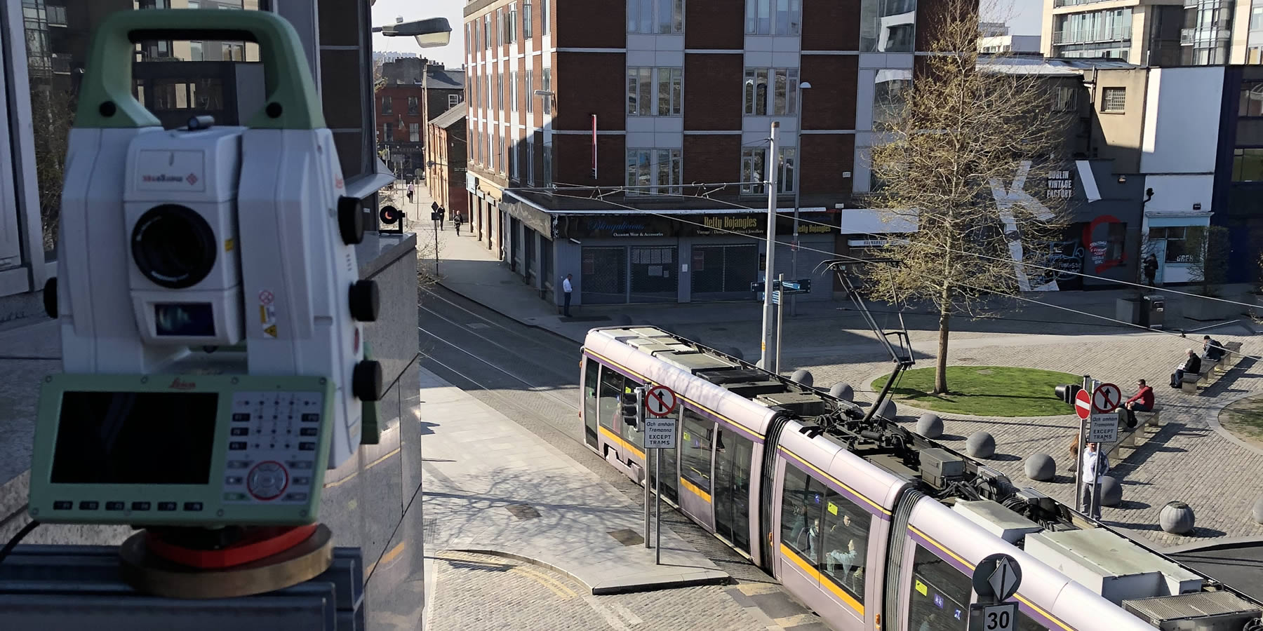 Luas Monitoring at Smithfield Images